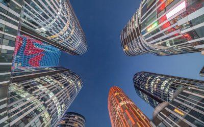 Neon Skyscrapers