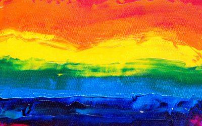 Pride Flag Painting