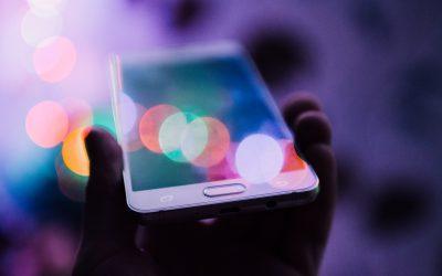 Sparkling Smart Phone