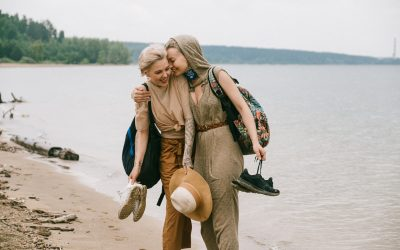 Two Women at the Beach