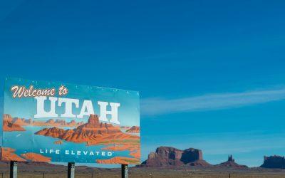 Welcome to Utah Sign in Desert