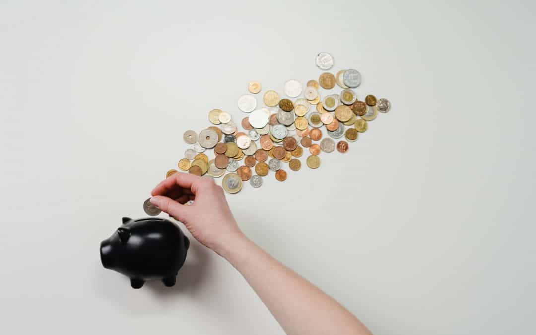 Piggybank With Coins
