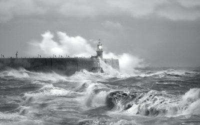 Hurricane on the Ocean