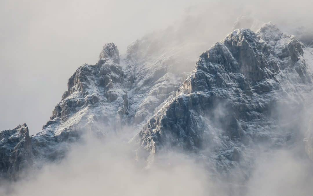 Snow Capped Mountains Cold