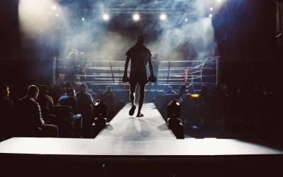 Boxing Gloves Ring Match