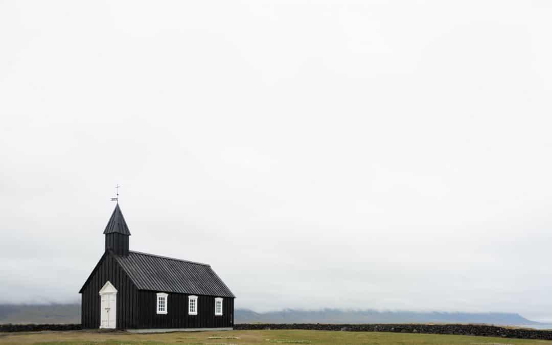 Church Cross Clouds