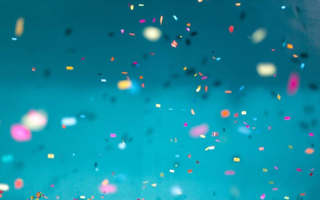 Confetti Crazy Wild Messy