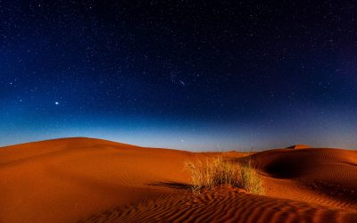 Desert Night Sand Stars