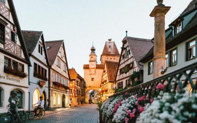 Europe Germany Town Bavarian
