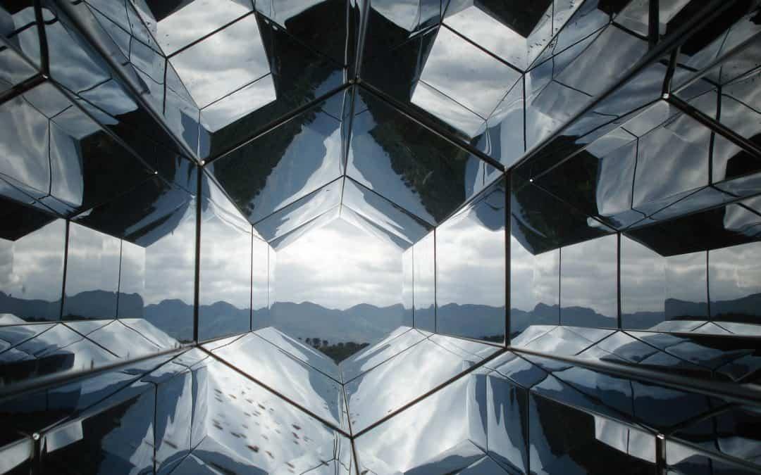 Future Glass Sky Mirror