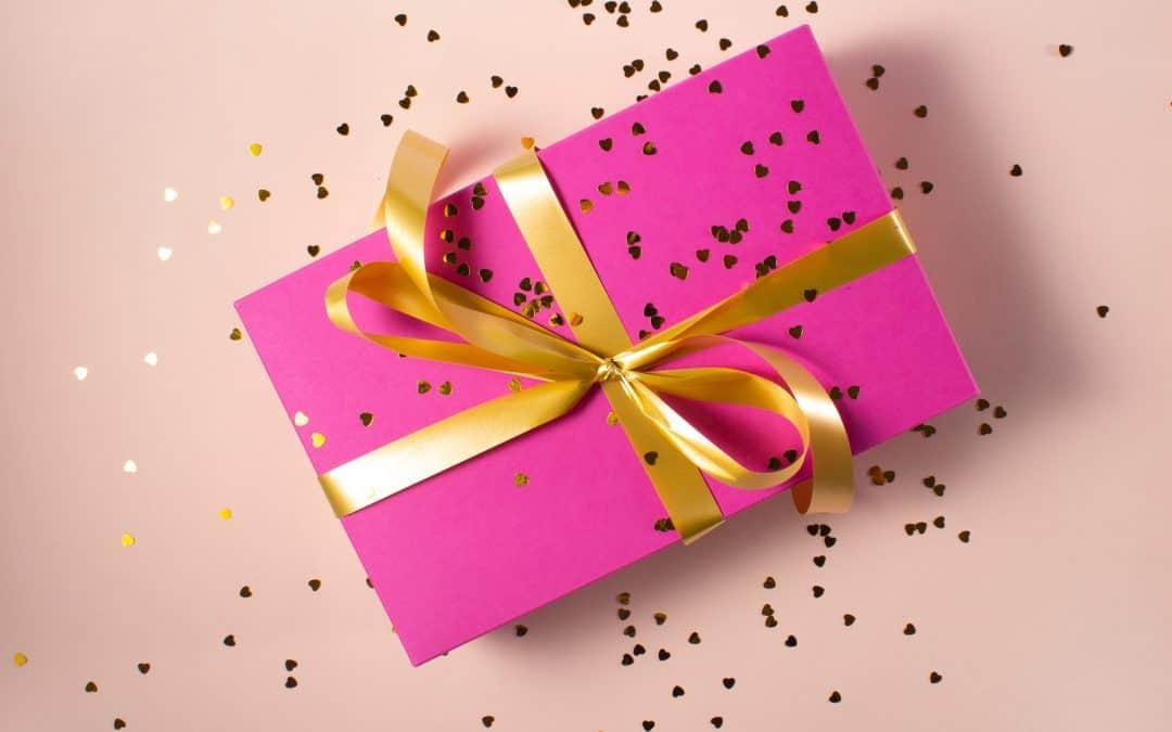 Gift Bow Glitter