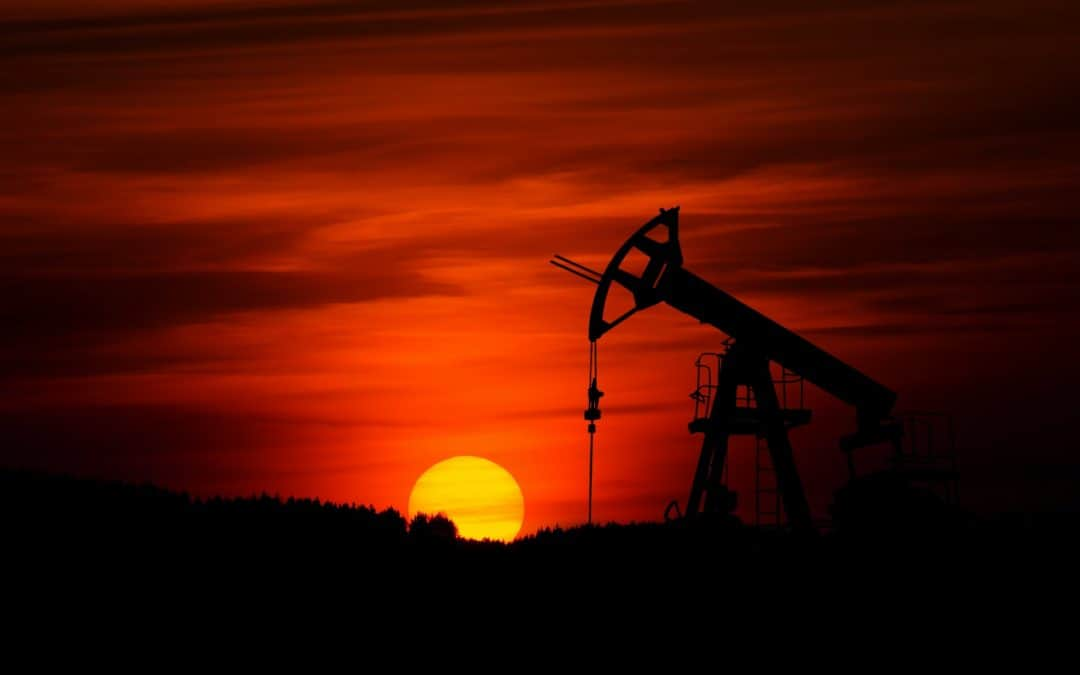 Oil Rig Sunset