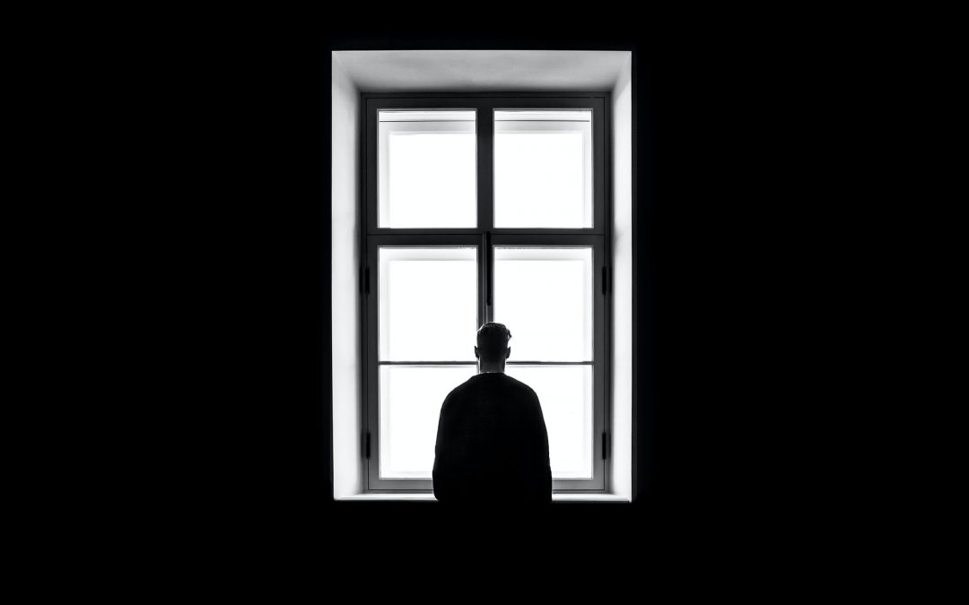 Person Staring out a Window