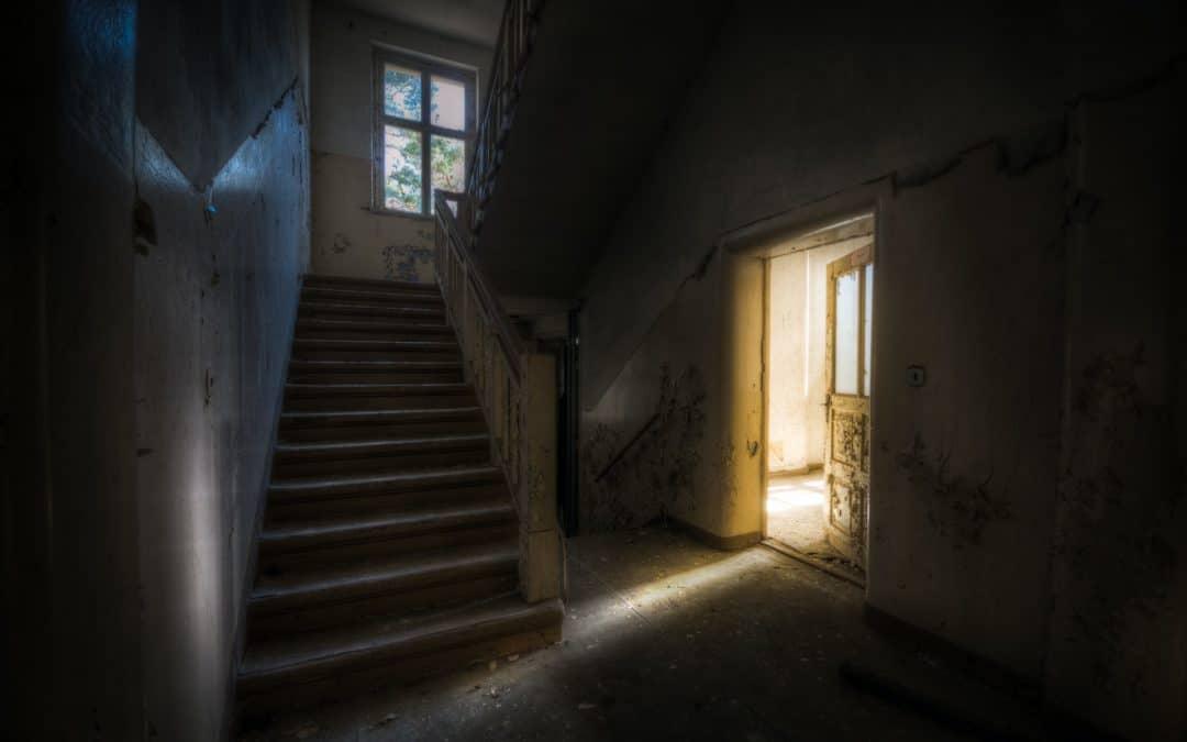 Scary Empty House Dark