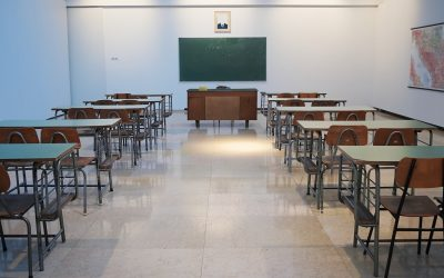School Chalk Board Desk