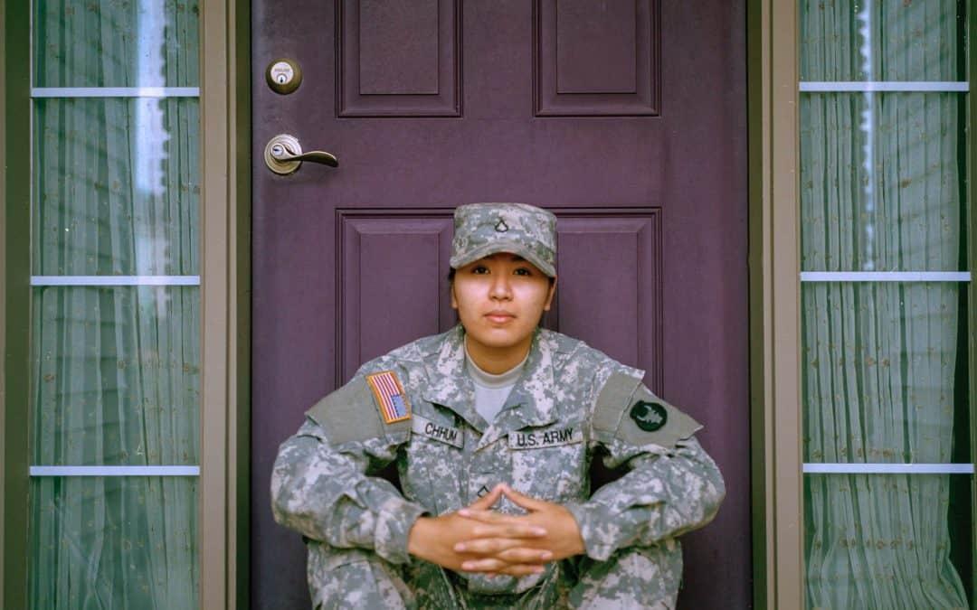 Soldier Home Door