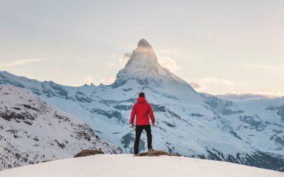 Success Climbing a Mountain