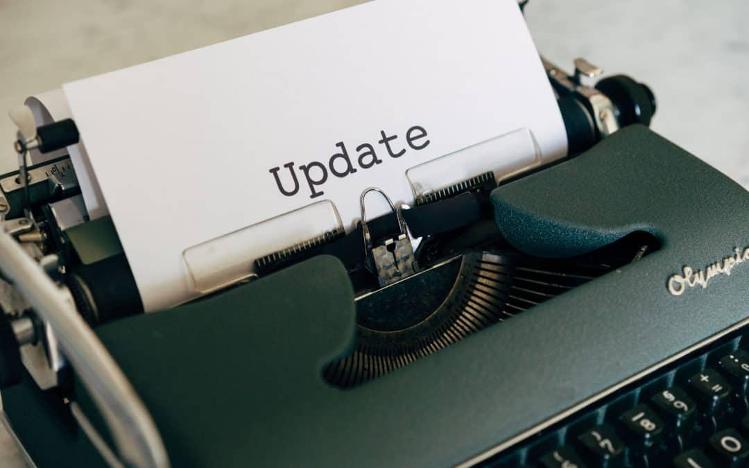 Update Typewriter