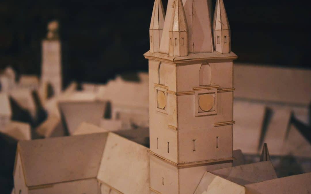 Cardboard City Tower Flimsy