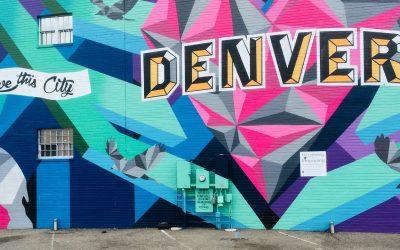 Denver Colorado Mural
