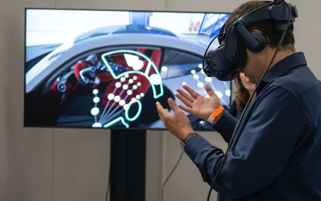 Technology VR Virtual Reality Car