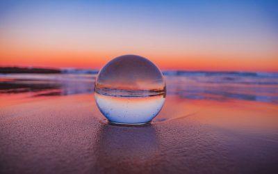 Crystal Ball Future Beach Water