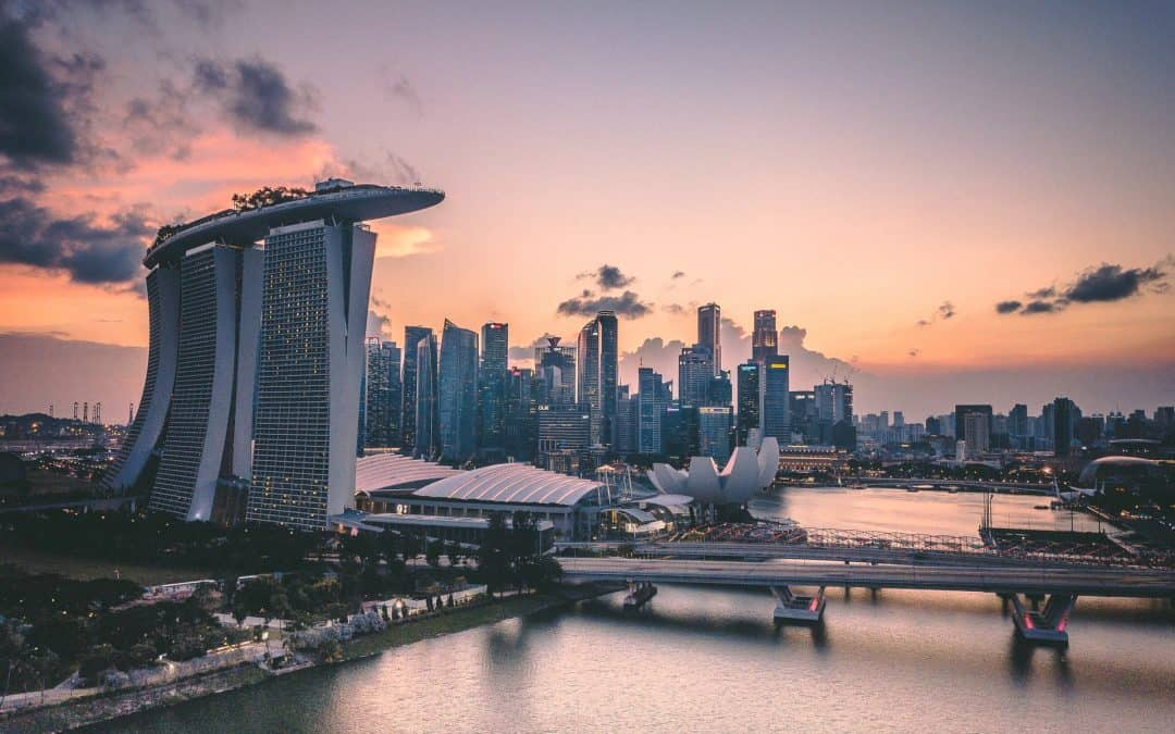 SIngapore Skyline City