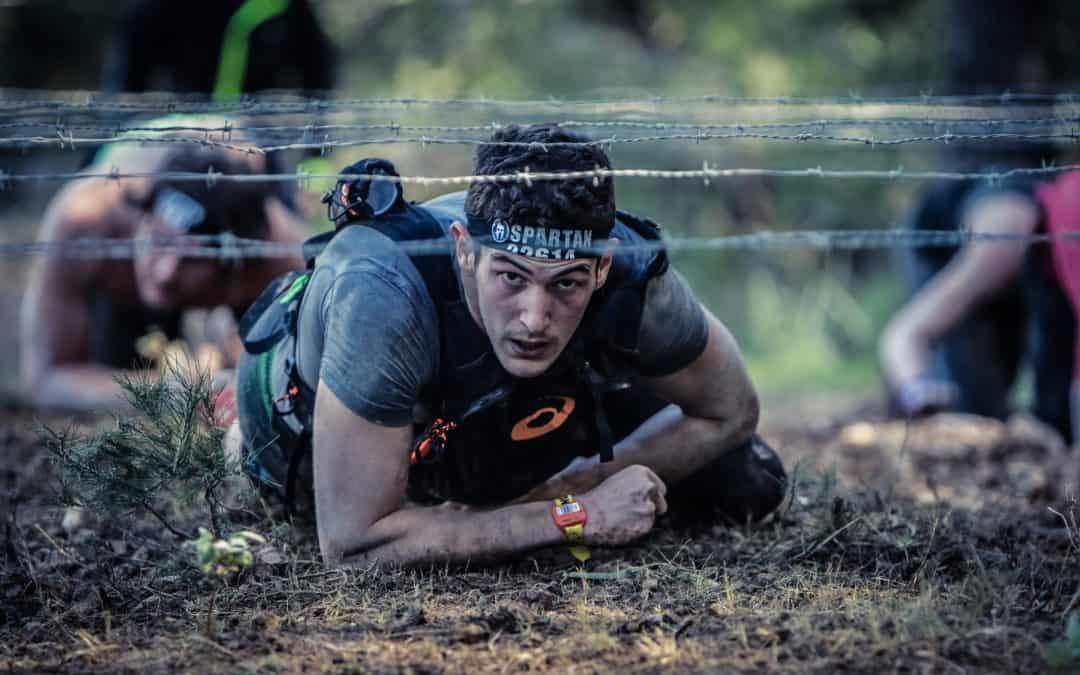 Tough Spartan Race Competition
